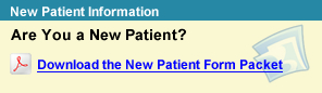 New Patient Form Packet